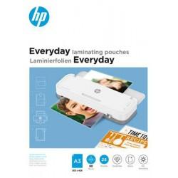 """Meleglamináló fólia, 80 mikron, A3, fényes, 25 db, HP """"Everyday"""""""