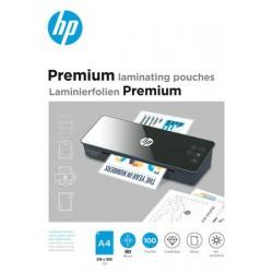 """Meleglamináló fólia, 80 mikron, A4, fényes, 100 db, HP """"Premium"""""""