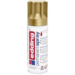 "Akrilfesték spray, 200 ml, EDDING ""5200"", matt arany"