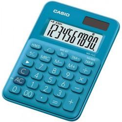 """Számológép, asztali, 10 számjegy, CASIO """"MS 7UC"""", kék"""
