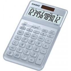 """Számológép, asztali, 12 számjegy, CASIO """"JW 200SC"""", acélkék"""