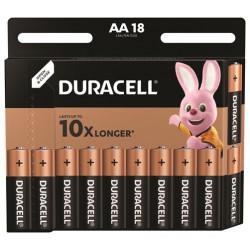 "Elem, AA ceruza, 18 db, DURACELL ""Basic"""