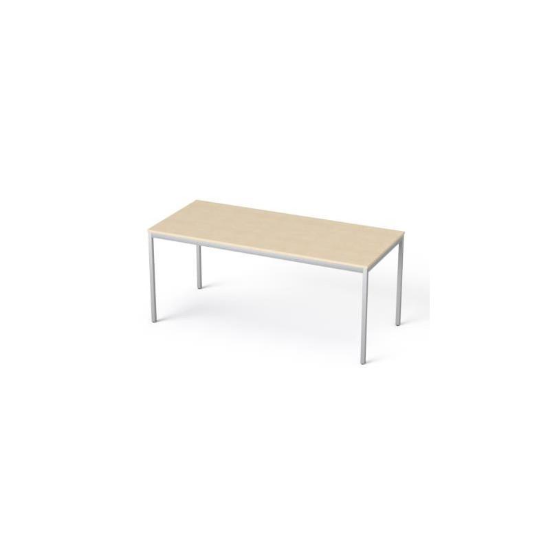 """Általános asztal fémlábbal, 75x170 cm, MAYAH """"Freedom SV-40"""", juhar"""